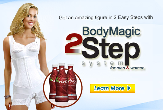 Drop 2 - 3 Dress Sizes in 10 Minutes with the Ardyss Body Magic 2 Step System